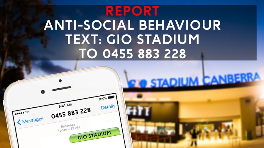 Report anti-social behaviour